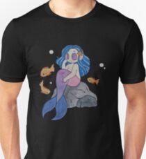Pastel Mermaid Girl and Friends Unisex T-Shirt