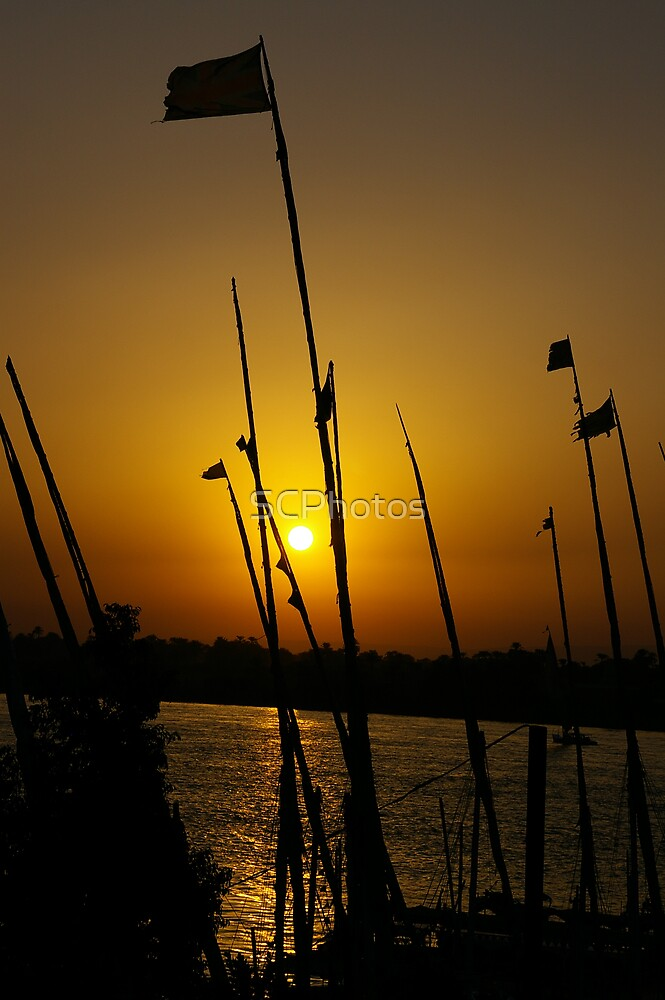 Sunset on the Nile by SCPhotos