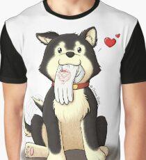 Black Hayate Graphic T-Shirt