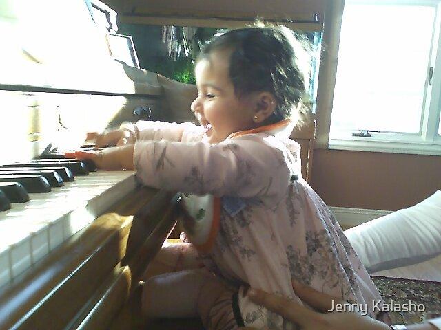 Baby Beethoven by Jenny Kalasho