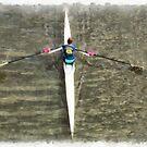 Rowing on the river by ashishagarwal74