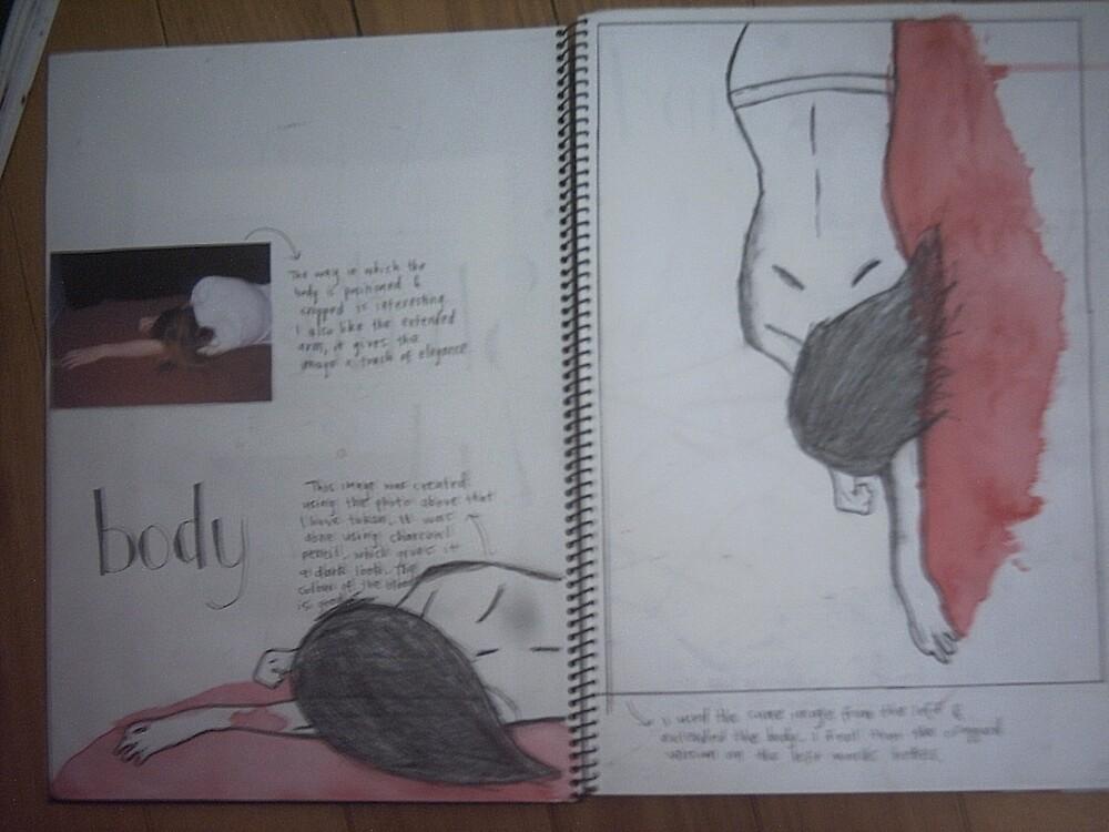 studio art folio pg 1 by papercutgirl