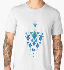Vintage ethnic tribal aztec ornament  Men's Premium T-Shirt