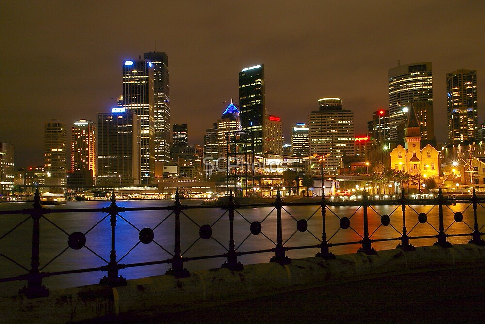 Sydney by Night by SCPhotos