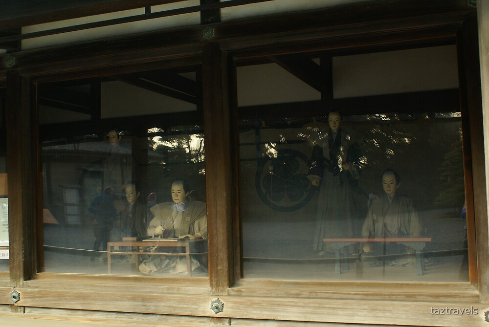 Image of Workers Through the Window by taztravels