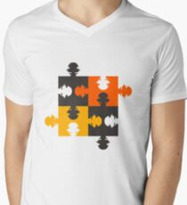 PUZZLED Men's V-Neck T-Shirt
