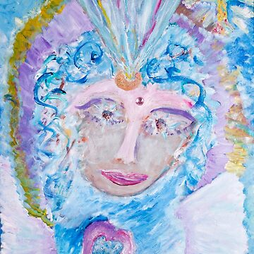 Divine Heart of Mother Mary by joanofangels