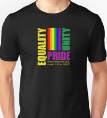 Equality March 2017 - June 11, 2017 - Washington D.C. Unisex T-Shirt