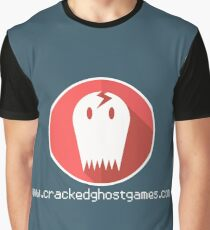 Cracked Ghost Games Merch Graphic T-Shirt