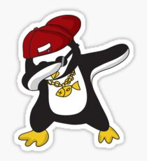 Dabbing Penguin  Sticker