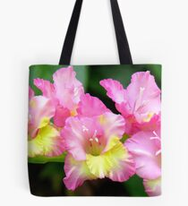 An Admiral  Spray Of Gladness! - gladiolus - NZ Tote Bag
