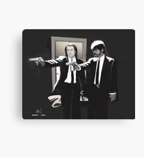 Vincent & Jules Canvas Print