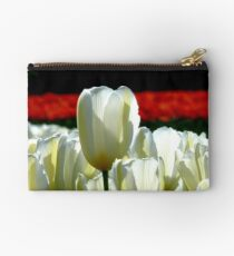 Can You See The Red Ones Yet! - Tulip Plantation - NZ Studio Pouch