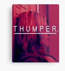 Eliza's Thumper Metal Print