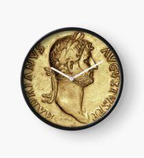 Hadrian Roman Emperor Clock