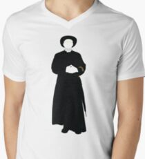 Great Detectives - Father Brown Men's V-Neck T-Shirt