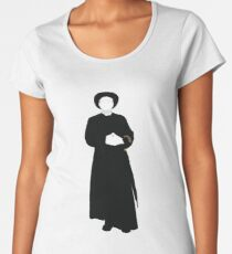 Great Detectives - Father Brown Women's Premium T-Shirt