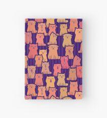 Cute ginger kittens Hardcover Journal