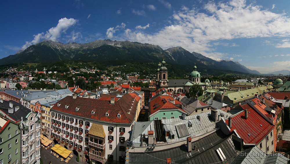 Postcard from Innsbruck by Stefan Trenker