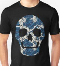 Japanese Art Ocean Wave Skull Tattoo  Unisex T-Shirt