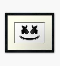 Marshmello - Helmet  Framed Print