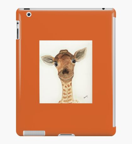 Silly Giraffe iPad Case/Skin