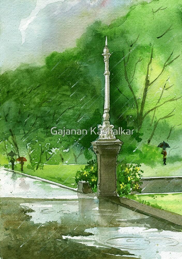 rain by Gajanan Kashalkar