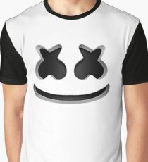 Marshmello - Helmet  Graphic T-Shirt