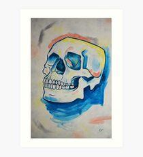 Skull Study - Oil Painting Art Print