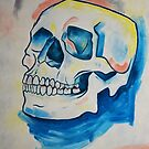 Skull Study - Oil Painting by AccioKaity