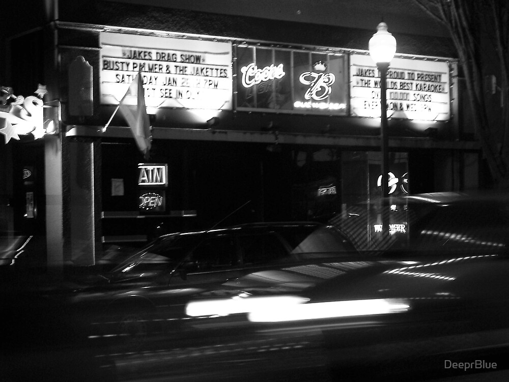 Life and Rythym of Downtown at Night; & Jakes Drag Show by DeeprBlue