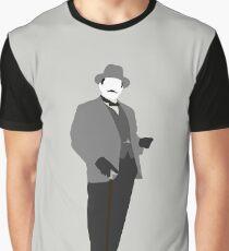 Great Detectives - Hercule Poirot Graphic T-Shirt