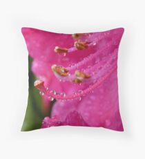 Natures Complex Simplicity! - Rhododendron - NZ Throw Pillow