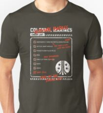 Colonial Marine Checklist T-Shirt