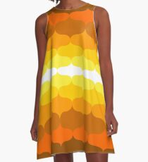Retro 60 Pattern A-Line Dress