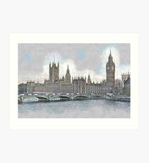 London II Cityscape Art Print