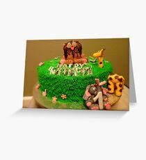 1st Birthday Jungle Cake - By Haydene - NZ Greeting Card