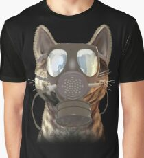 Schrödinger underestimates the cat Graphic T-Shirt