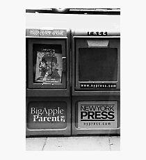 Press Photographic Print