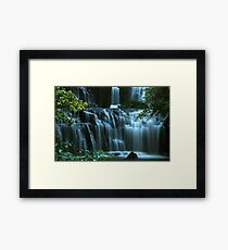 Purakaunui Falls......New Zealand Framed Print