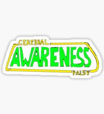 Cerebral Palsy Awareness (Sci-Fi Style) Sticker
