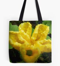 Male Or Female? - Pumpkin Flower - NZ Tote Bag