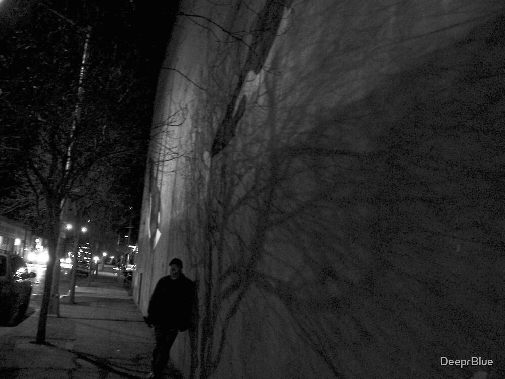 """Lurking""  Shadow Man (cont) by DeeprBlue"