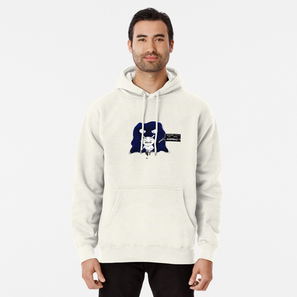 M is For Monster Monday Pullover Hoodie
