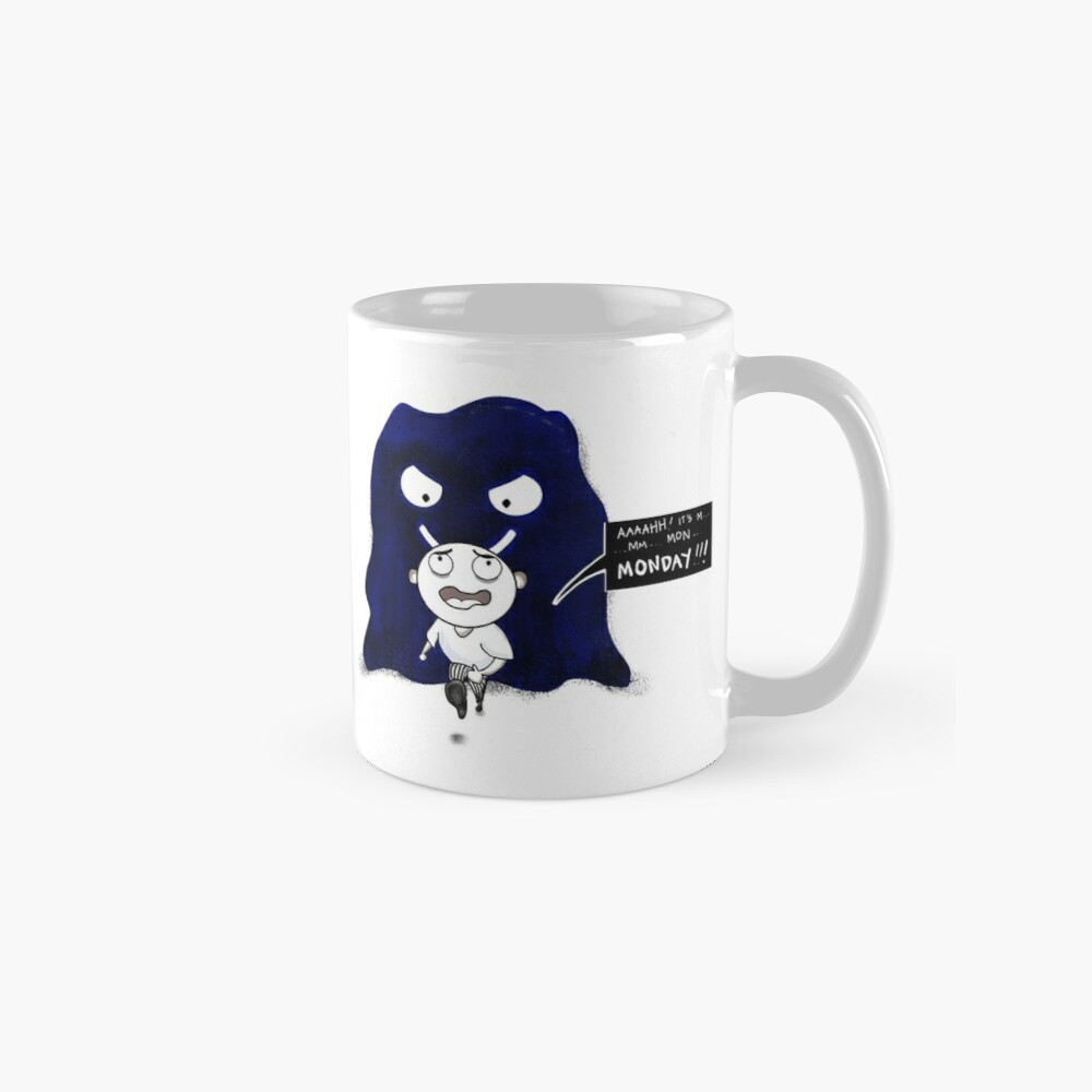 M is For Monster Monday Mug