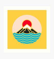 Fuji Kunstdruck
