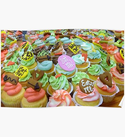 *Alice In Wonderland* - Cupcakes - Christchurch Poster