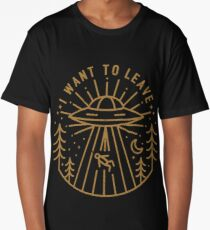 I Want To Leave Long T-Shirt