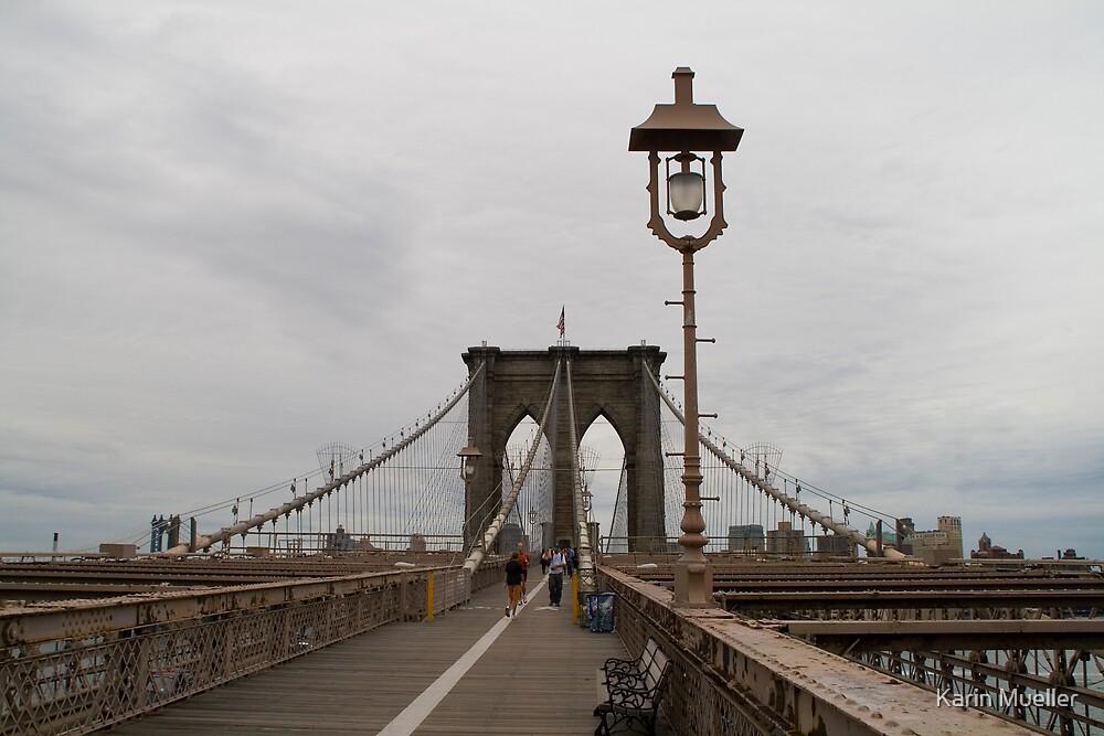 Brooklyn Bridge by Karin Mueller
