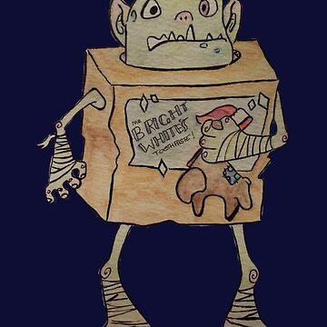 Boxtroll watercolour by Alan2903